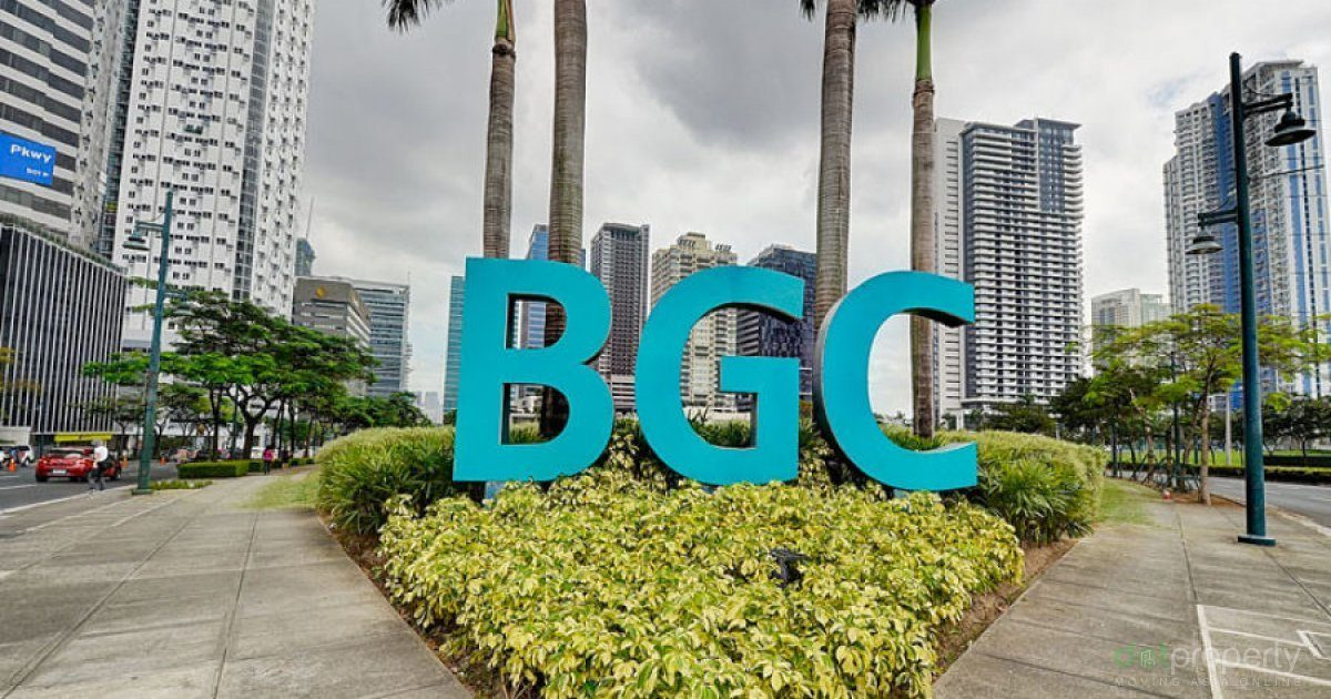 In Bonifacio Global City, It Almost Never Floods