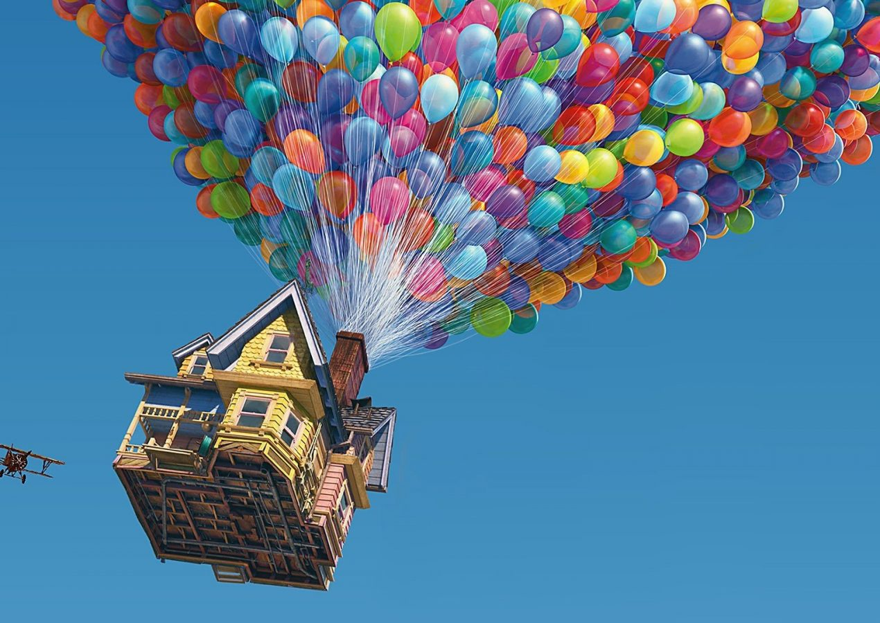 Is It Possible to Let a House Fly Using Hundreds of Helium Balloons?